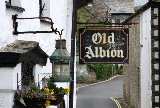 Old Albion Inn: The Old albion Sign