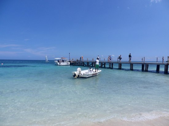 Beaches Ocho Rios Resort & Golf Club : Dock