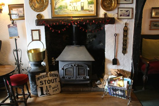 Old Albion Inn: Keep cosy in winter