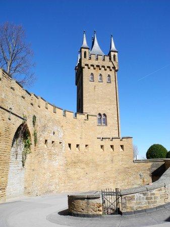 Castle of Hohenzollern : Zufahrt