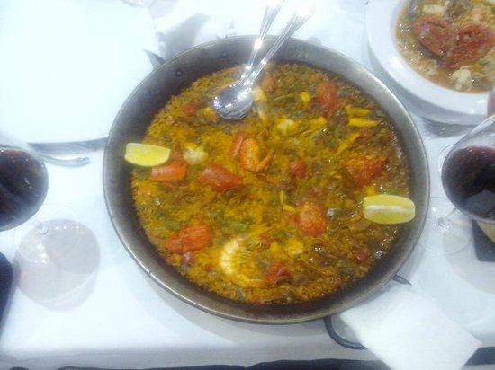 Restaurante Antonio: Paella con bogavante