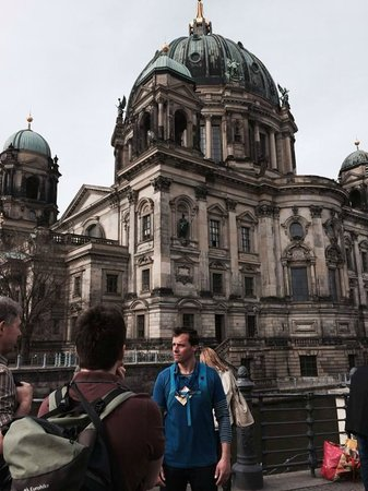 Insider Tour Berlin: Mike at Berlin Cathedral