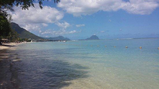 Hilton Mauritius Resort & Spa: Visuale su Le Morne