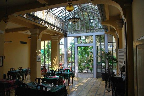 La Villa Battambang: la verrière