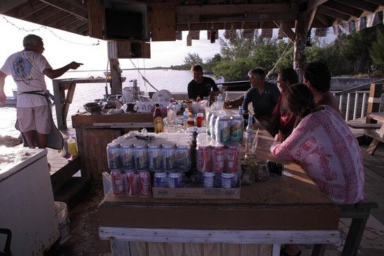 Seaside Village at Jerry Wells : The restaurant