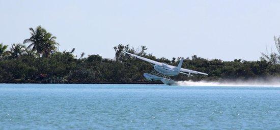 Seaside Village at Jerry Wells : Seaplane take off