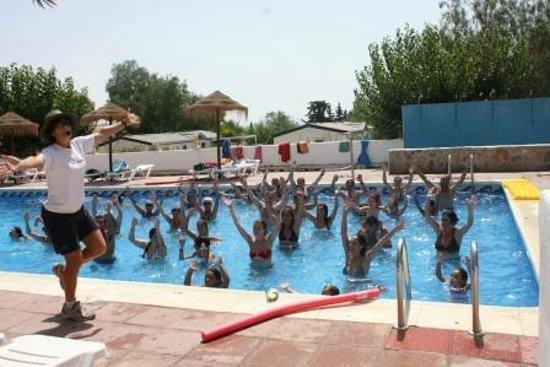 Camping Totana: Aquagym