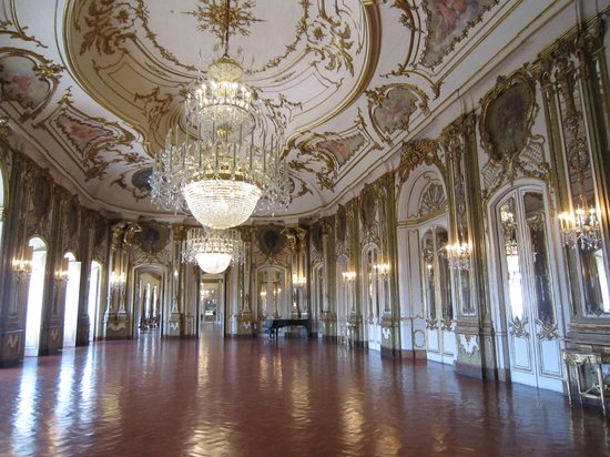 National Palace of Queluz: Hall of mirrors