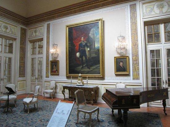 National Palace of Queluz: Royal portraits