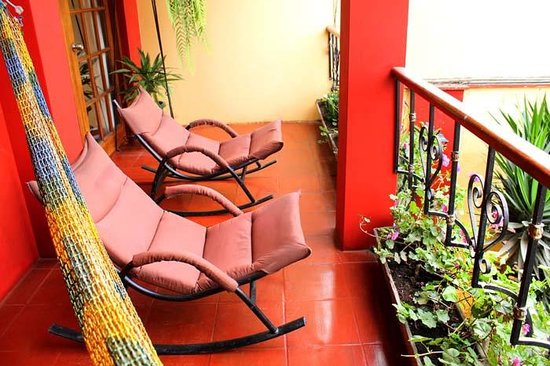 Peru Star Botique Apartments Hotel: Your Balcony in the Duplex Apartment