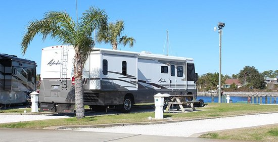 Perdido Cove RV Resort & Marina: Beachfront RV SIte
