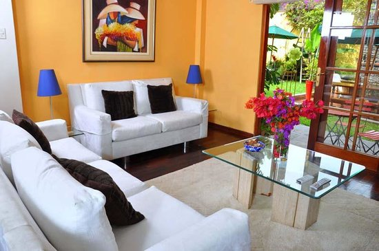 Peru Star Botique Apartments Hotel : Living rooom in our Superior Apartment