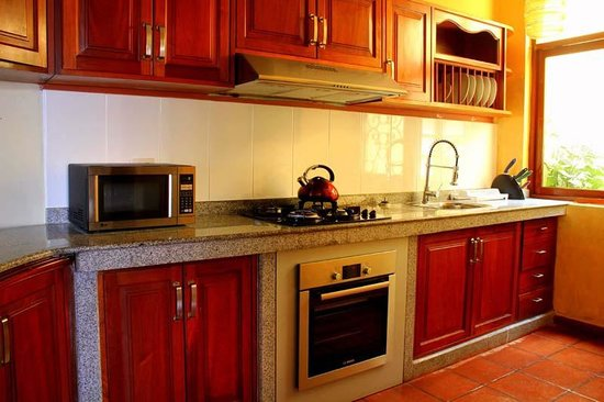 Peru Star Botique Apartments Hotel : Our Kitchen in our Superior Apartment