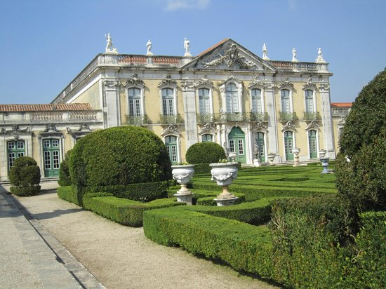 National Palace of Queluz: Main building