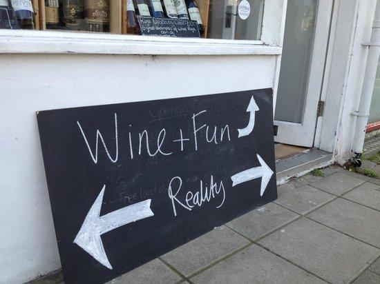 Vino Vero: Wine and fun, or reality. You deicde