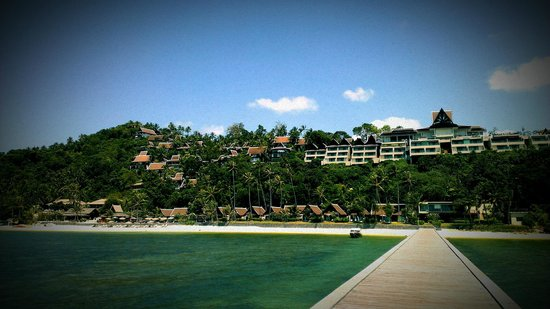 InterContinental Samui Baan Taling Ngam Resort: View from the hotel Pier