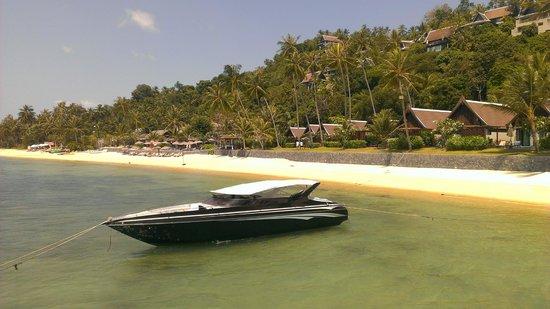 InterContinental Samui Baan Taling Ngam Resort: Hotel Private boat