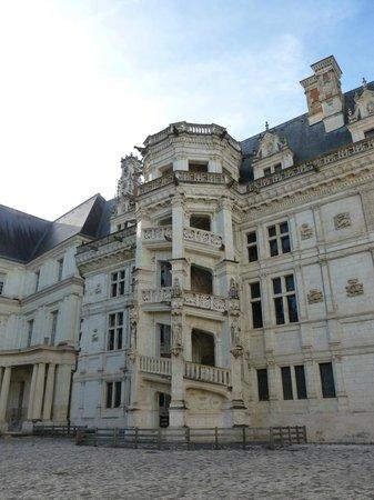 Chateau Royal de Blois: escalier