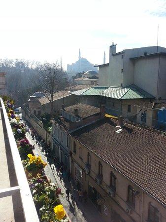 Sude Konak Hotel: Hotel room view