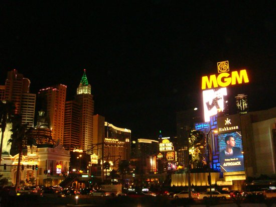 MGM Grand Hotel and Casino : My View