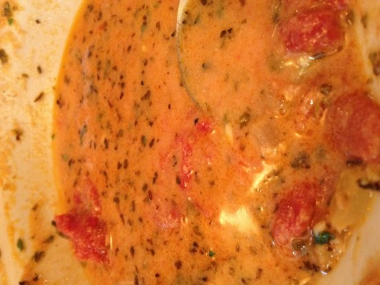Door County Bakery: Yummy Tuscan tomato soup!