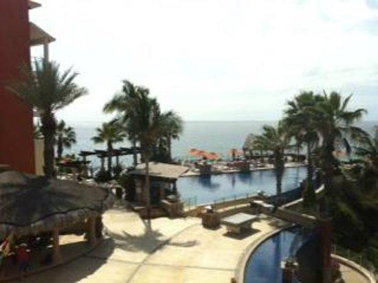 Welk Resorts Sirena Del Mar: View from lobby balcony