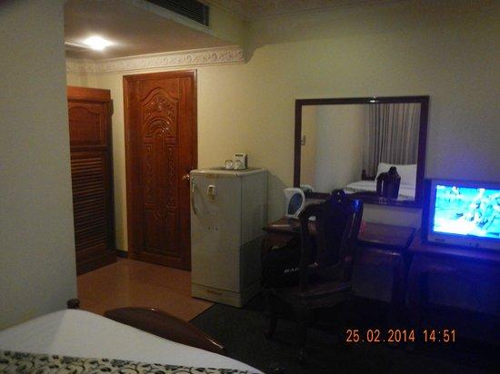 Monica Angkor Hotel: Номер