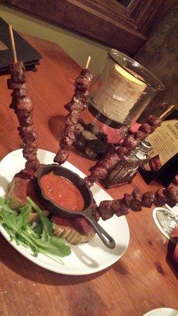 Dakotah Steakhouse: Amazing chislic appetizer
