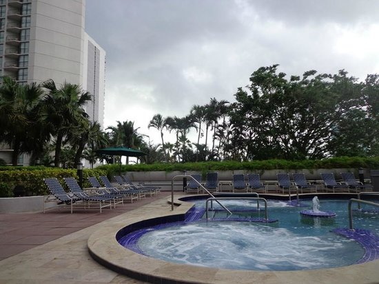 Doubletree by Hilton Grand Hotel Biscayne Bay: Jacuzzi