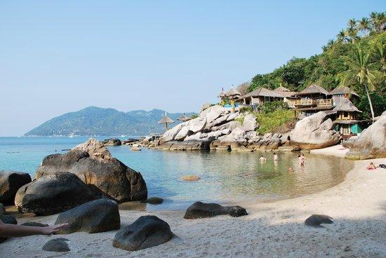 Charm Churee Villa: la plage