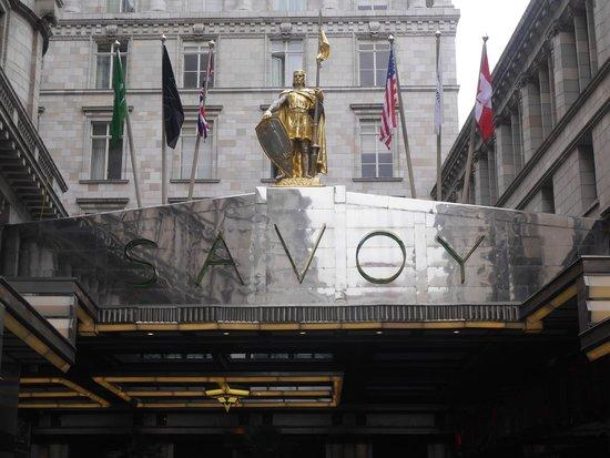 The Savoy : Main Entrance