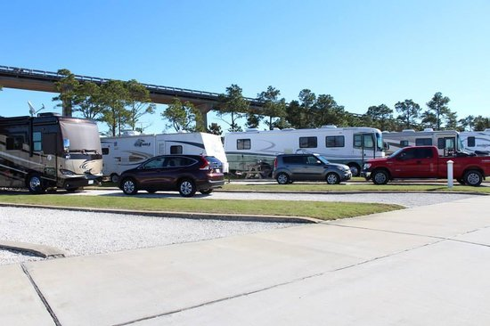 Perdido Cove RV Resort & Marina: Extra Large RV Sites