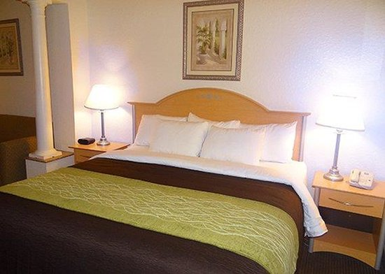 Baymont Inn & Suites Seabrook Kemah : King Bed
