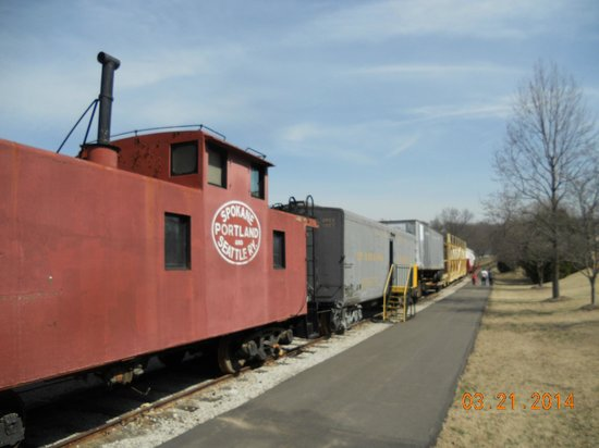 Museum of Transportation: Climb aboard and walk through the cars