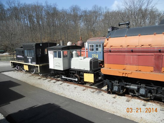 Museum of Transportation: Trains, trains and more trains
