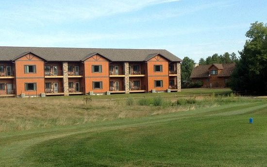 Spring Brook: Condos have a beautiful view of some golf holes