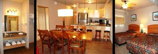 Spring Brook : Beautiful kitchen and dining room in the condos