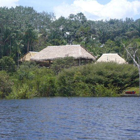Tariri Amazon Lodge: Vista do lodge, ao chegar