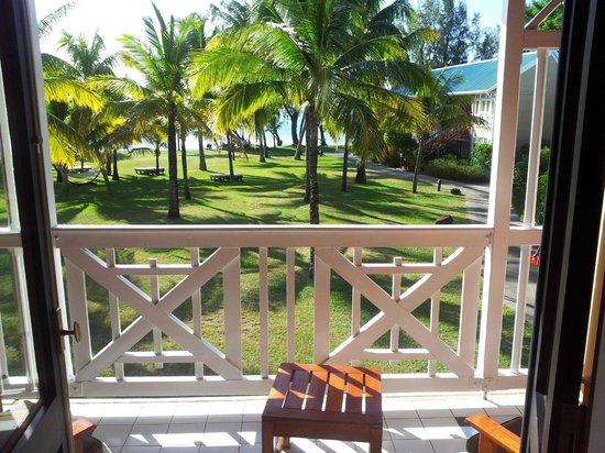 Club Med La Pointe aux Canonniers: vue de la chambre vers l'extérieur