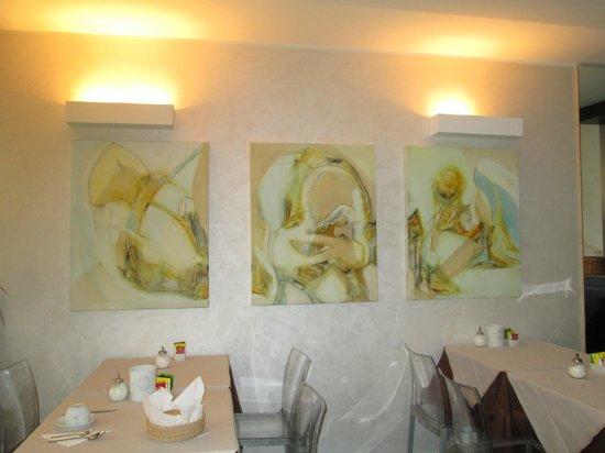 Ca' Pozzo Inn: Salle petit dejeuner