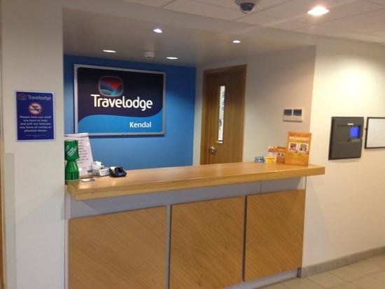 Travelodge Kendal: reception
