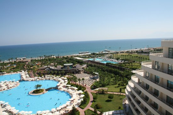 Miracle Resort Hotel: Вид из номера