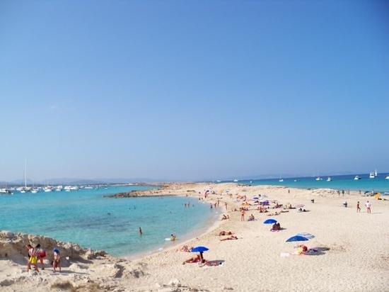 Strand Playa de ses Illetes: Bliss
