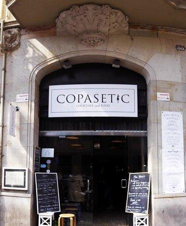 Copasetic Barcelona: The entrance