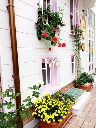 Hotel Darussaade Istanbul: nice flowers
