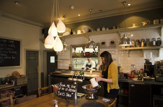 Kitchen Picture Of The Queens London Tripadvisor
