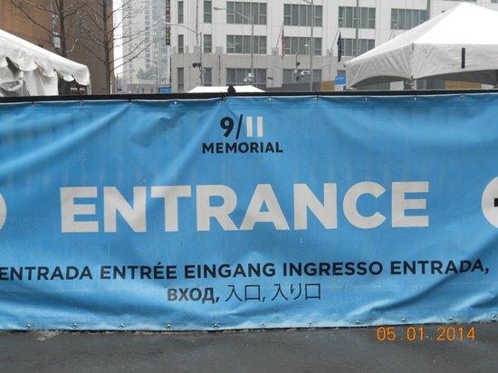 New York Marriott Downtown: la zona 0, al lado del hotel
