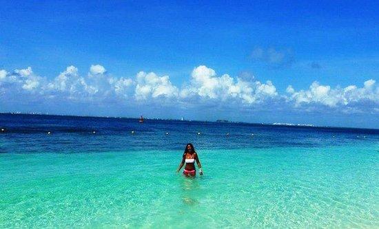 Playa Norte: Playa de las Mujeres en México!