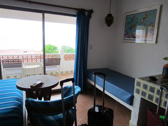 Scuba Club Cozumel : 2 double beds, private bath and balcony, 3rd floor