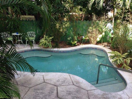 Ambrosia Key West Tropical Lodging : Hot tub